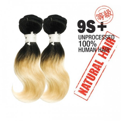 Unprocessed 100% Natural Human Hair 9s+Body Wave 2PCS super bundle sale