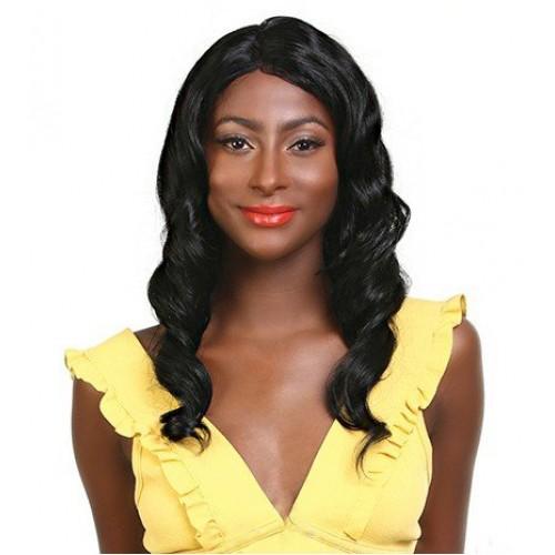 "EBIN NEW YORK WIG DRESS 100% UNPROCESSED HUMAN HAIR WIG 10A Brazilian BODYWAVE 22"""
