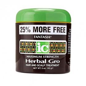 Fantasia IC Maximum Strenght Herbal Gro Hair and Scalp Treatment 5oz