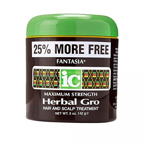 Fantasia IC Maximum Strenght Herbal Gro Hair and Scalp Treatment 5oz