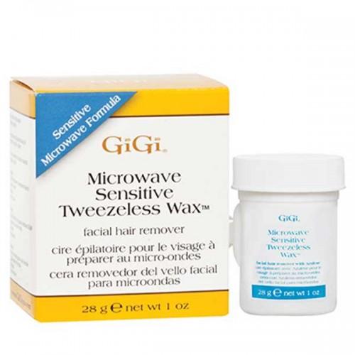 GiGi Microwave Tweezeless Wax Sensitive 1oz