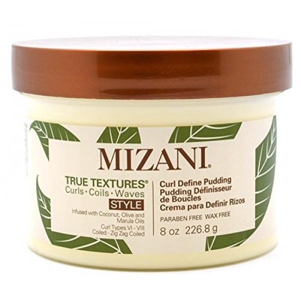 Mizani True Textures Curl Define Pudding Cream For Unisex 8oz