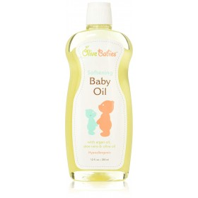 Olive Babies Softening Baby Oil 12oz