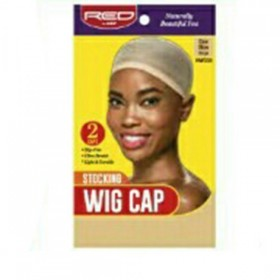 Red by Kiss Stocking Wig Cap Beige HWC03​ 2PCS