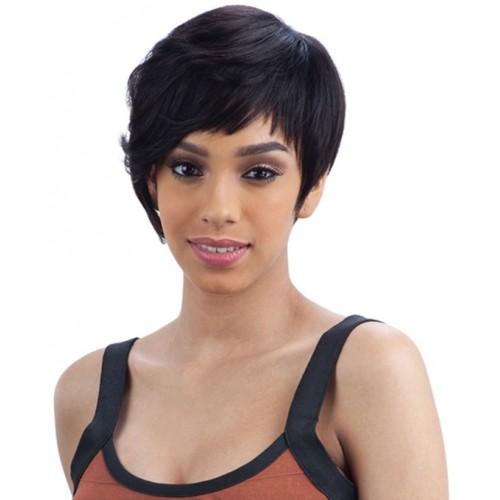 Saga 100% Brazilian Remy Human Hair Wig Sunshine