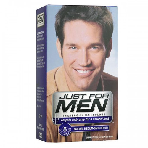 JUST FOR MEN SHAMPOO-IN HAIR COLOR