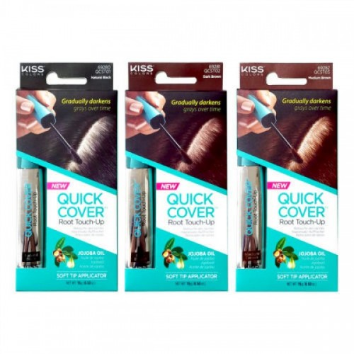 Kiss Quick Cover Root Touch Up Soft Tip Applicator