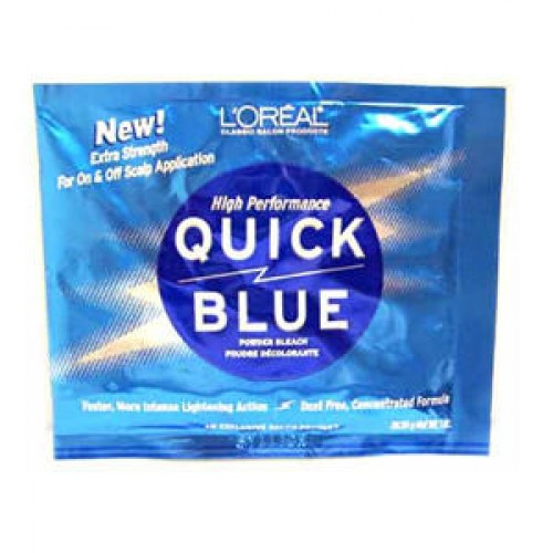 L'Oreal Quick Blue Powder Bleach 1oz