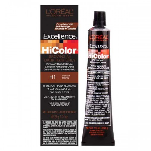 L'OREAL Excellence HiColor Browns For Dark Hair Only