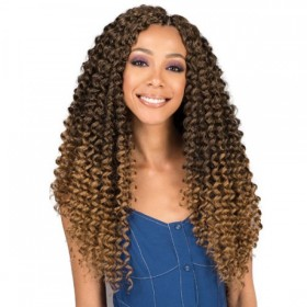 BOBBI BOSS SYNTHETIC HAIR CROCHET BRAIDS BRAZILIAN DEEP TWIST 18""