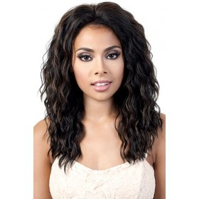 MOTOWN TRESS SYNTHETIC LACE FRONT WIG L.MELANY