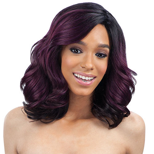 EQUAL FREETRESS SYNTHETIC LACE FRONT WIG LACE DEEP INVISIBLE L-PART BLOSSOM