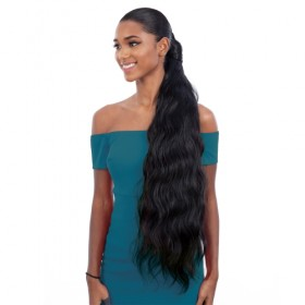 Milky Way Easy Wrap Ponytail Organique Pony Pro Body Wave 32""